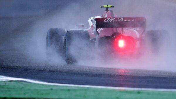 Charles Leclerc, piloto del equipo Alfa Romeo Sabuer, durante el Gran Premio de Alemania de Fórmula 1 - Sputnik Mundo