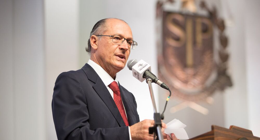 Geraldo Alckmin, candidato a las elecciones presidenciales