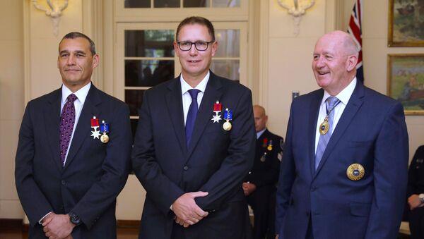 Craig Challen y Richard Harris, los australianos que formaron parte del equipo de rescate de cuevas de Tailandia - Sputnik Mundo
