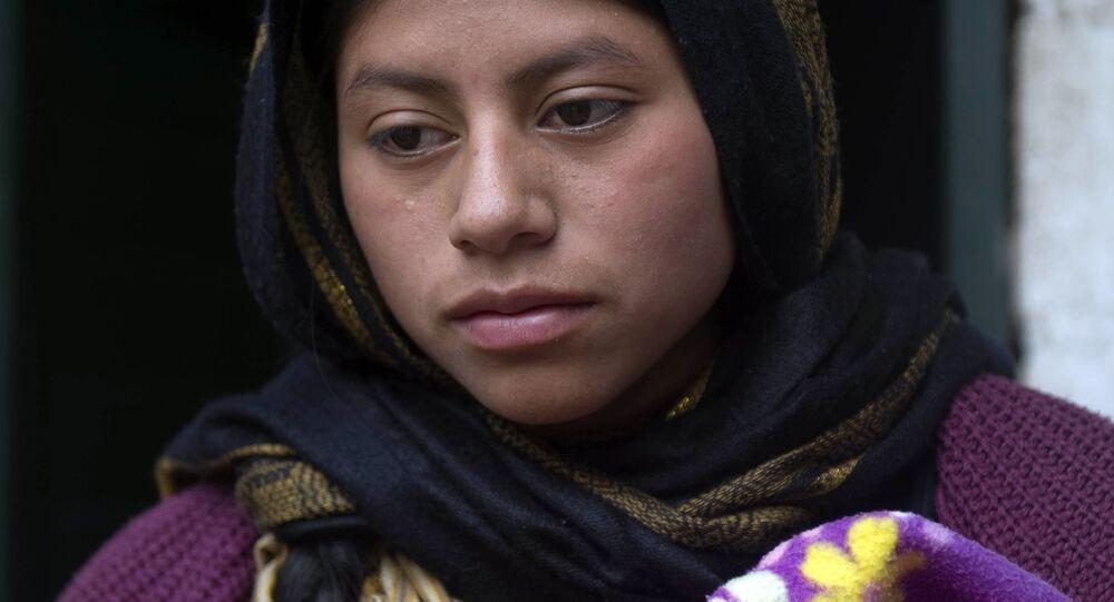Una mujer musulmana de Chiapas