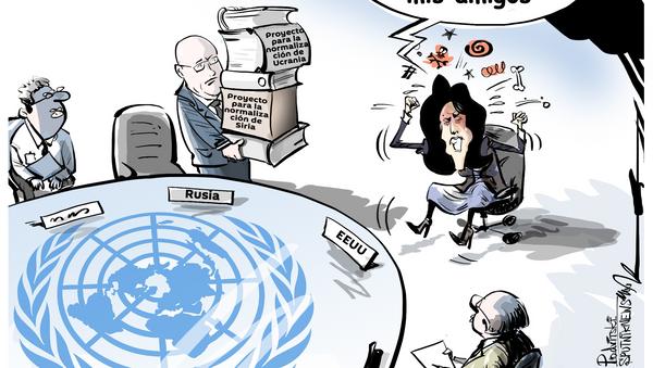 Histeria antirrusa: Haley no quiere que Washington y Moscú sean amigos - Sputnik Mundo