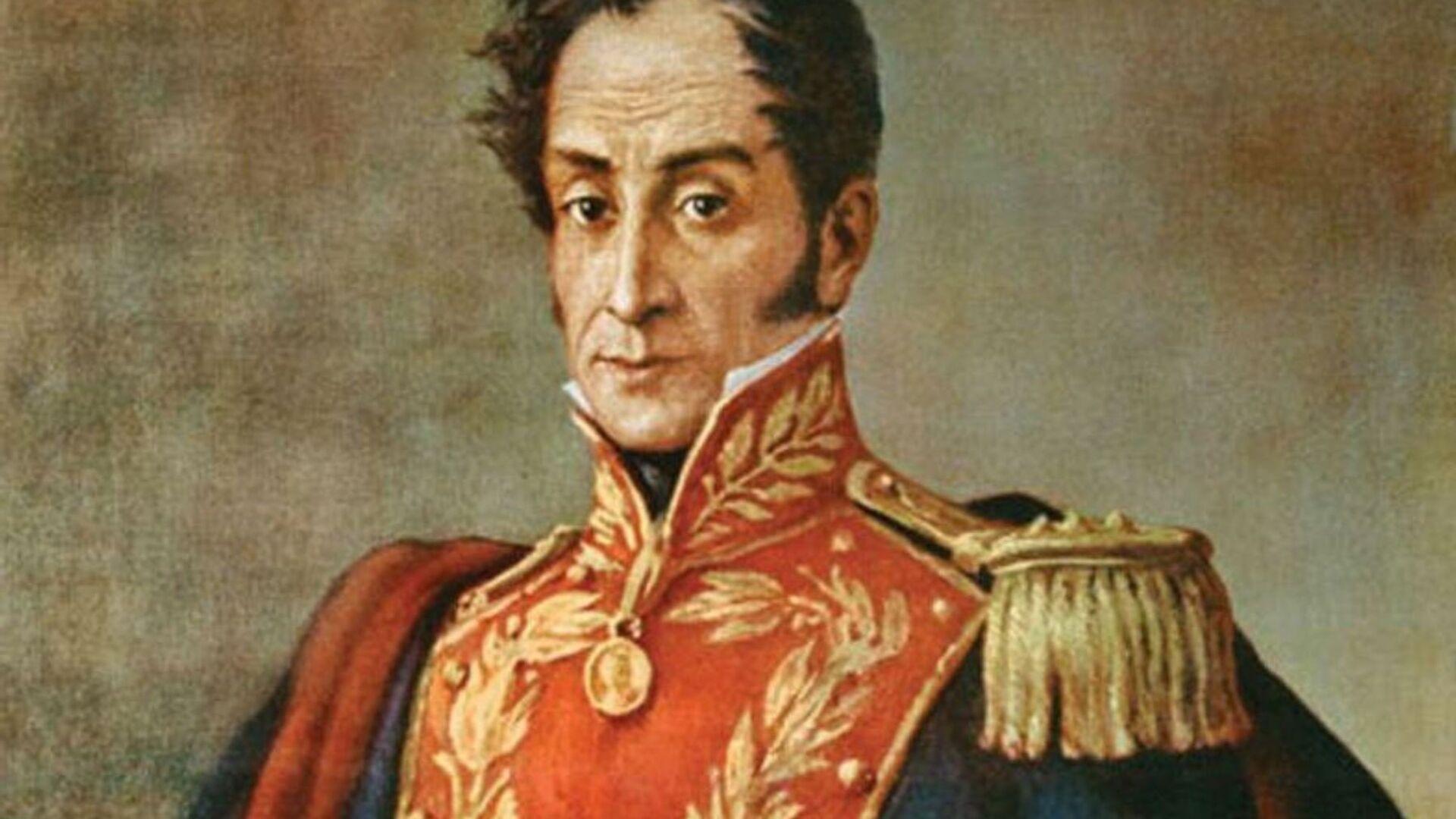 Retrato de Simón Bolívar - Sputnik Mundo, 1920, 22.07.2021