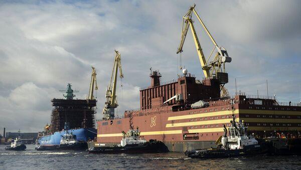 El bloque energético flotante Akademik Lomonosov - Sputnik Mundo