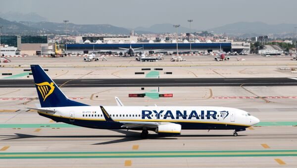 Un avión de Ryanair - Sputnik Mundo