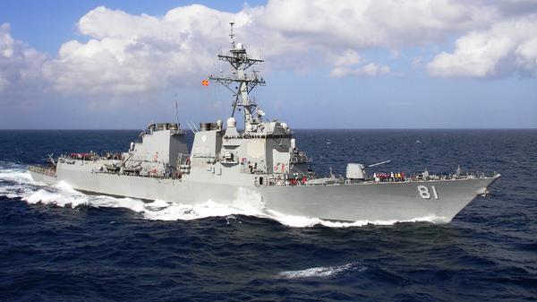 Destructor estadounidense USS Winston S. Churchill - Sputnik Mundo