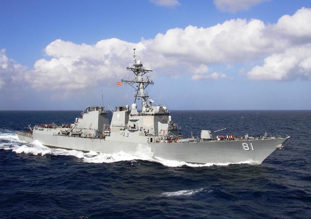 Destructor estadounidense USS Winston S. Churchill