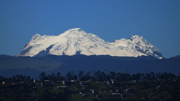 Los Andes en Ecuador - Sputnik Mundo