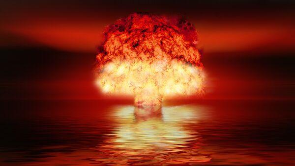 Una explosión nuclear, imagen ilustrativa - Sputnik Mundo