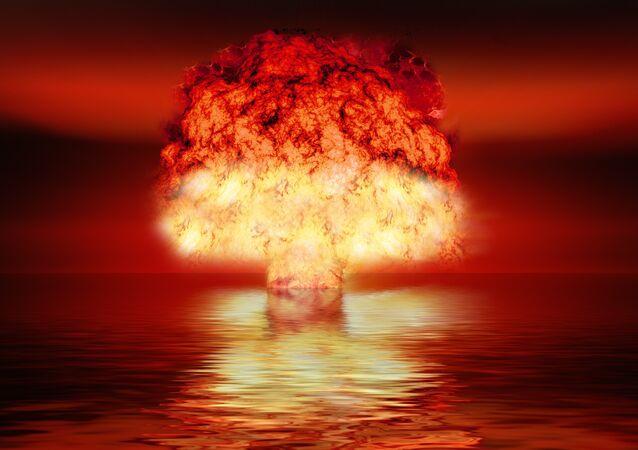 Una explosión nuclear, imagen ilustrativa