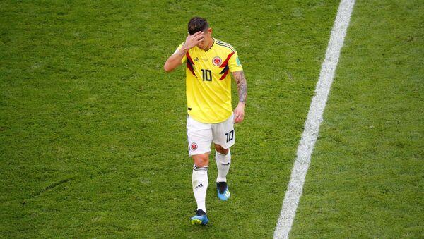 James Rodríguez, futbolista colombiano - Sputnik Mundo