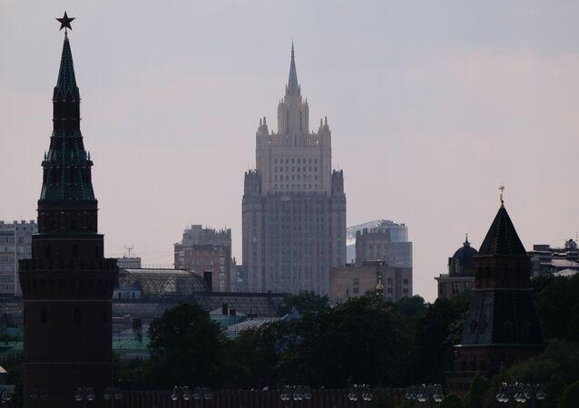 El Ministerio de Asuntos Exteriores de Rusia y el Kremlin