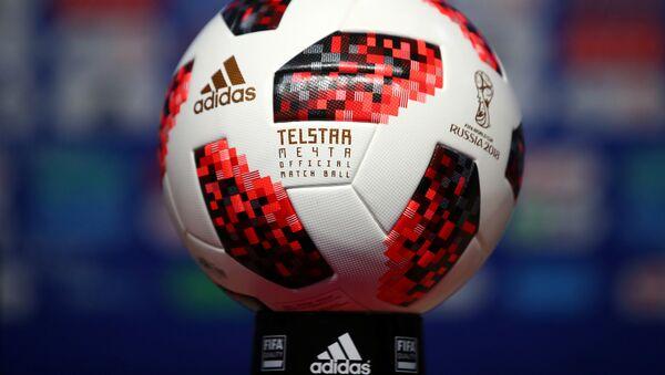 El balón del Mundial que Vladímir Putin le regaló a Donald Trump - Sputnik Mundo