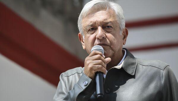 Andrés Manuel López Obrador, político mexicano, presenta su Plan de Austeridad Republicana, México, 14 de julio de 2018 - Sputnik Mundo