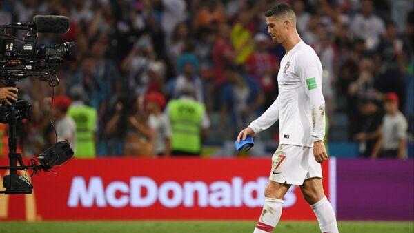 Cristiano Ronaldo, futbolista de la selección de Portugal - Sputnik Mundo