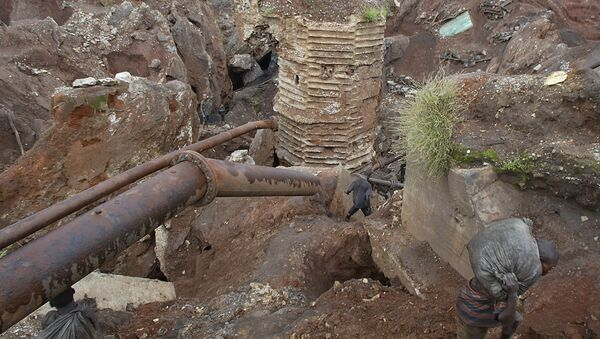 Una mina de cobalto en la RDC - Sputnik Mundo