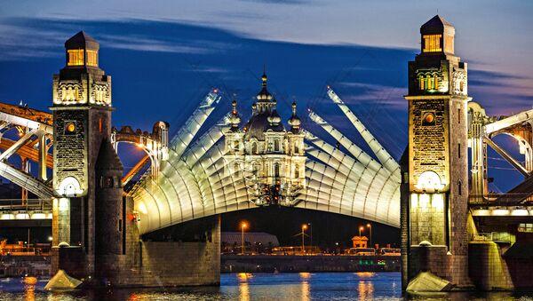 Los puentes en San Petersburgo, Rusia - Sputnik Mundo