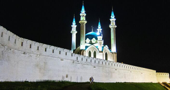 Una mezquita en Kazán
