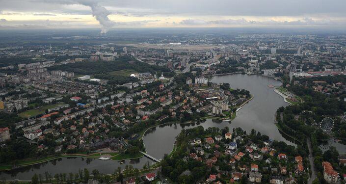 Vista aérea de Kaliningrado