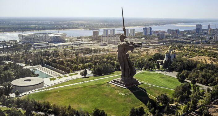 El estadio Volgograd Arena