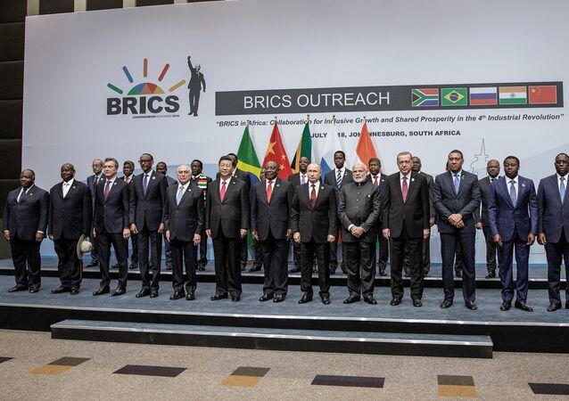 La X cumbre de los BRICS en Sudáfrica