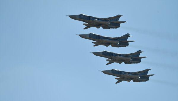 Los aviones Su-24 - Sputnik Mundo
