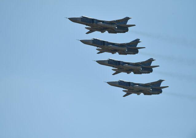Los aviones Su-24
