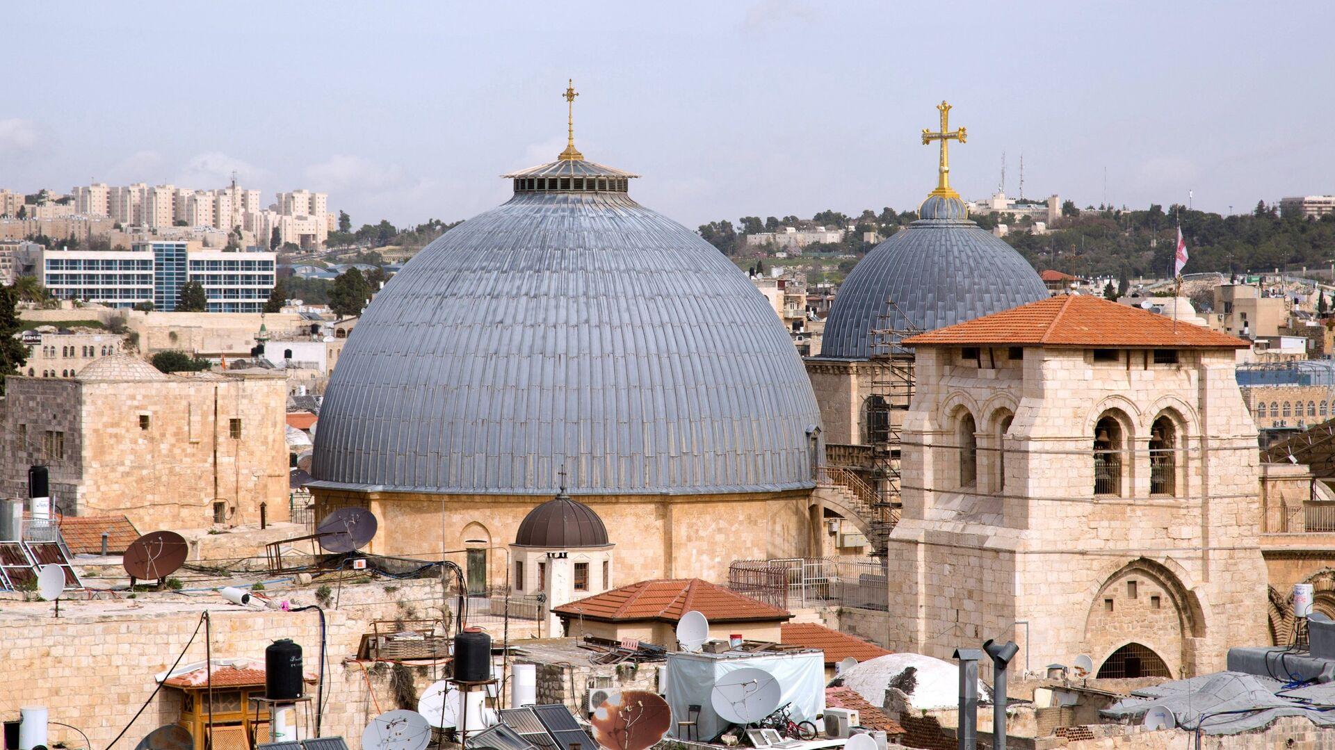 La Iglesia del Santo Sepulcro en Jerusalén - Sputnik Mundo, 1920, 22.02.2021