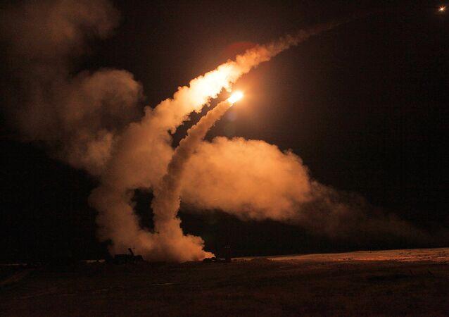 S-400 lanza misiles (archivo)