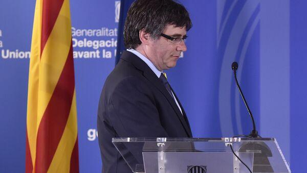 Carles Puigdemon, expresidente catalán - Sputnik Mundo