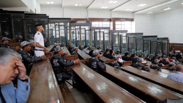 El tribunal penal de El Cairo - Sputnik Mundo