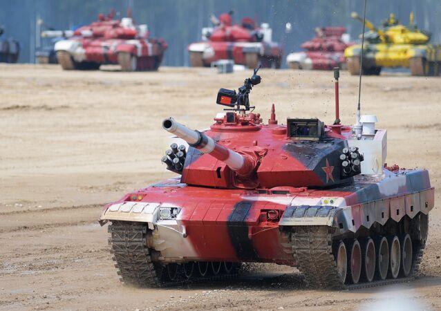 Biatlón de tanques
