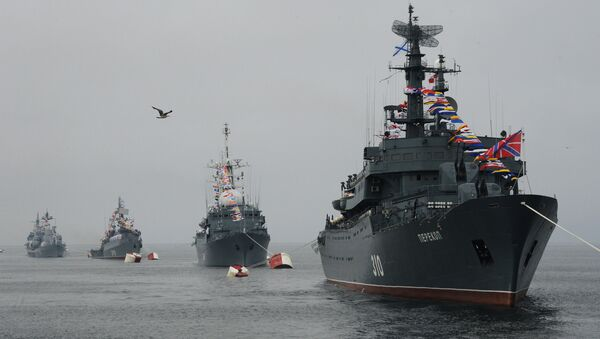 Los buques de la Flota del Báltico de Rusia - Sputnik Mundo