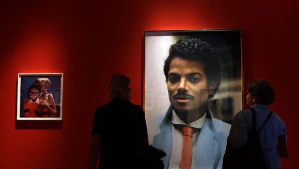 Un retrato de Michael Jackson - Sputnik Mundo