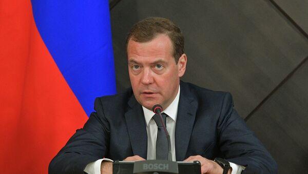 El primer ministro de Rusia, Dmitri Medvédev - Sputnik Mundo