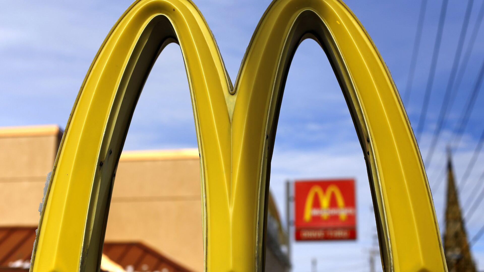 Logo de McDonald's - Sputnik Mundo, 1920, 25.02.2021