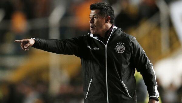 Jorge Almirón, el extécnico del Club Atlético Lanús - Sputnik Mundo