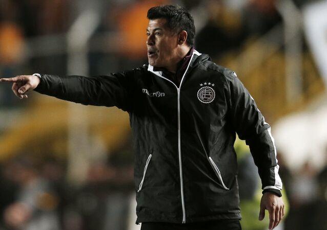Jorge Almirón, el extécnico del Club Atlético Lanús