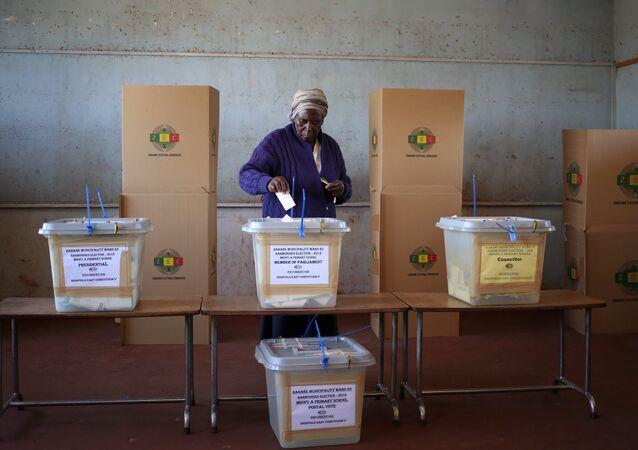 Elecciones presidenciales en Zimbabue