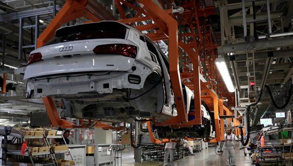 Producción de automóviles en México - Sputnik Mundo