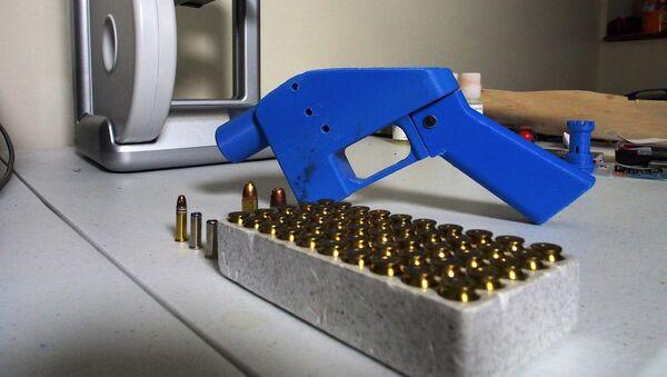 Liberator, pistola hecha con impresora 3D - Sputnik Mundo