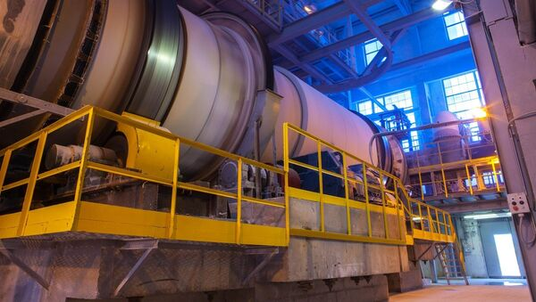 Producción industrial (imagen referencial) - Sputnik Mundo