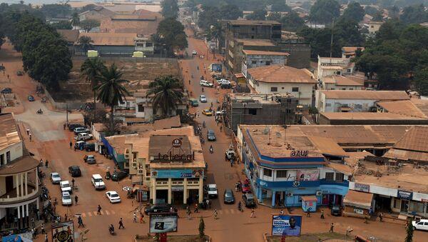 Bangui, la capital de la República Centroafricana - Sputnik Mundo