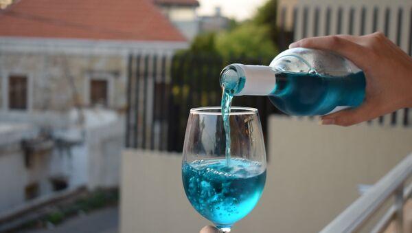 Vino azul, foto archivo - Sputnik Mundo