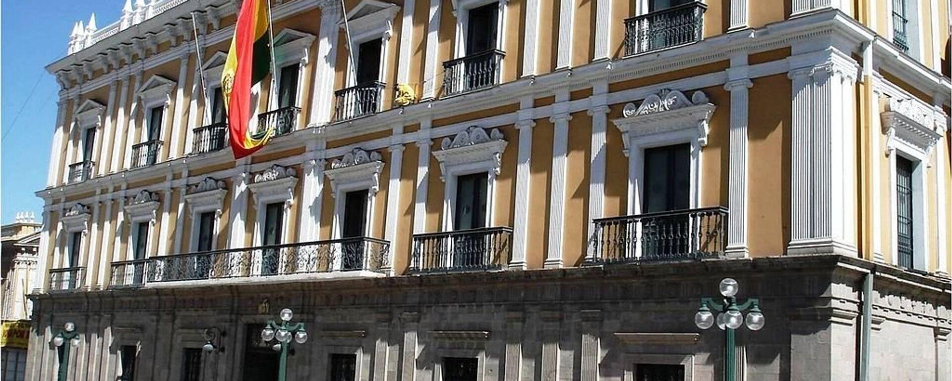 Palacio de Gobierno en La Paz, Bolivia. - Sputnik Mundo, 1920, 27.11.2020