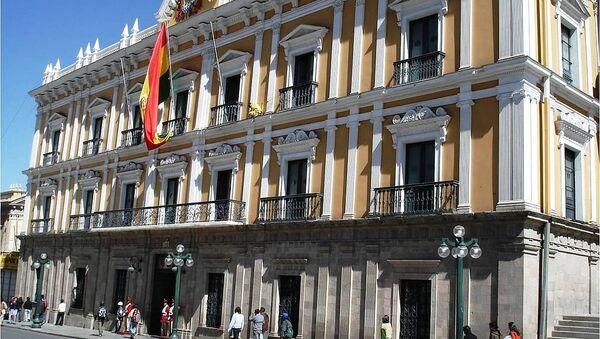 Palacio de Gobierno en La Paz, Bolivia. - Sputnik Mundo