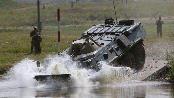 Un vehículo de reconocimiento químico de Rusia - Sputnik Mundo
