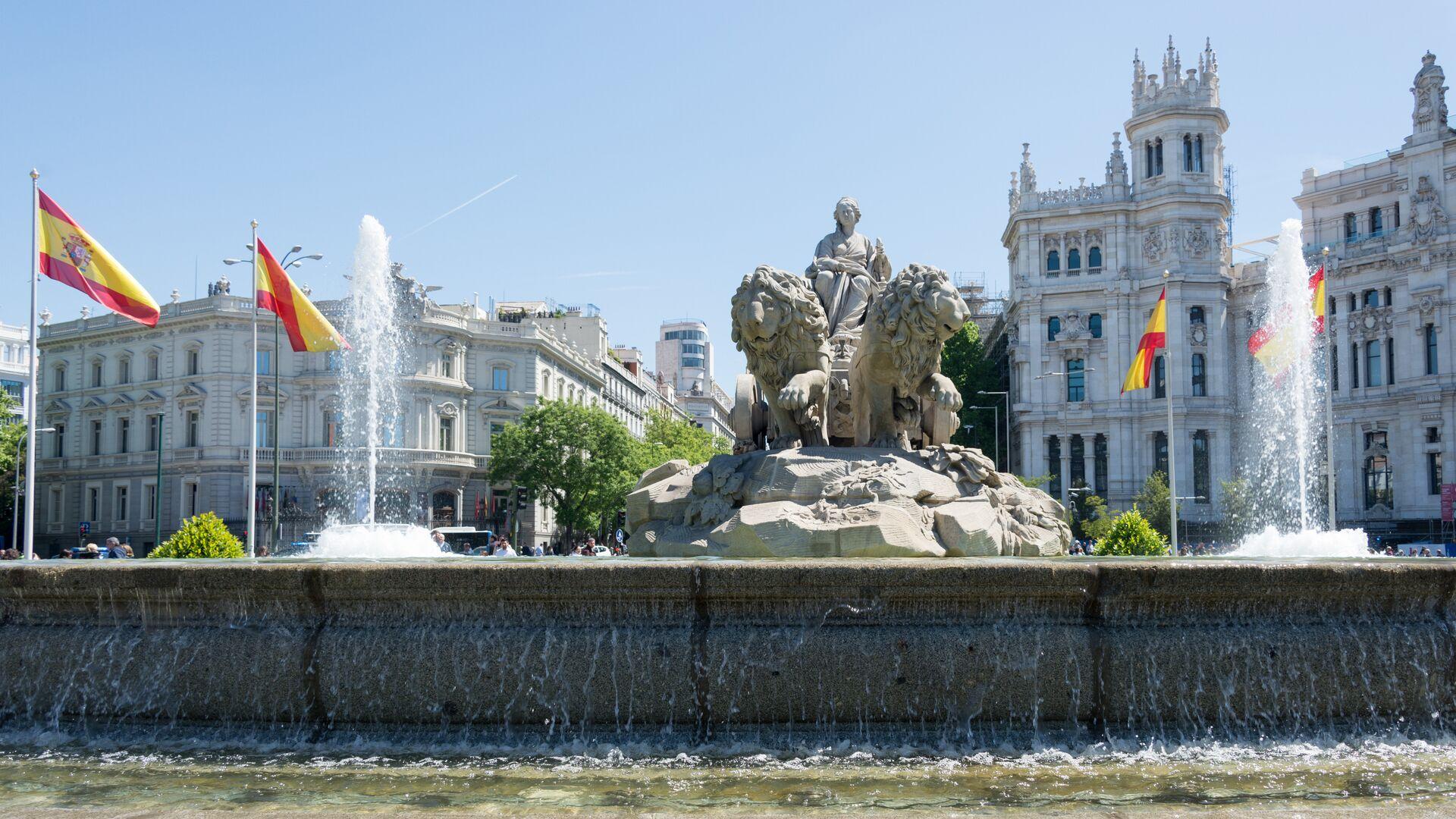 Madrid, la capital de España - Sputnik Mundo, 1920, 27.04.2021