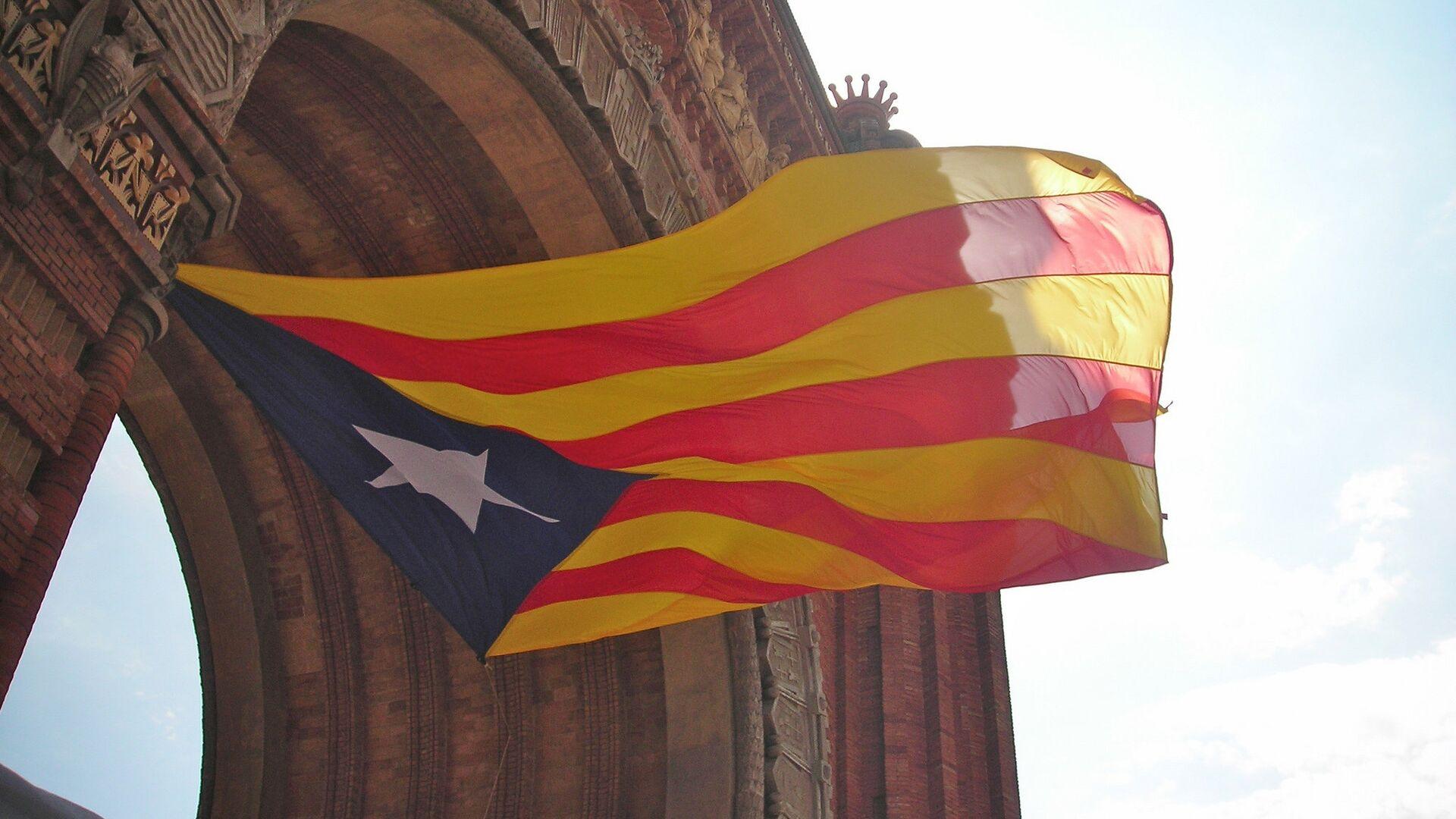 Estelada, la bandera independentista de Cataluña - Sputnik Mundo, 1920, 14.02.2021