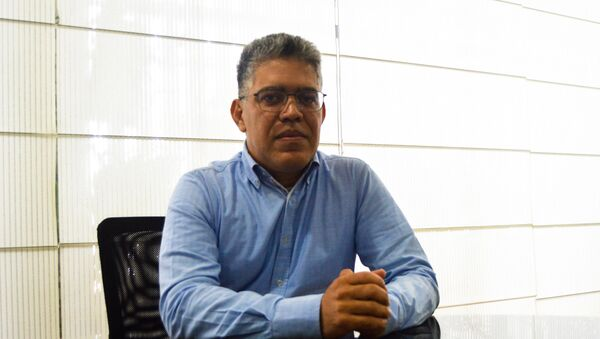 Elias Jaua, Ministro de Educación de Venezuela - Sputnik Mundo