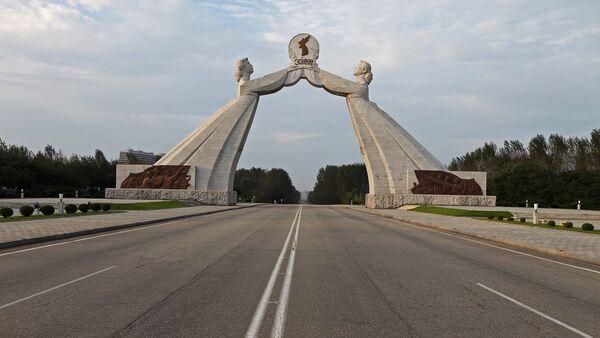 Monumento de reunificación de las dos Coreas - Sputnik Mundo